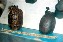 Some old grenades