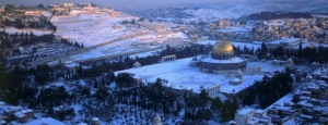 Al Quds in Snow