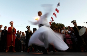 Traditional Turkish whirling dance