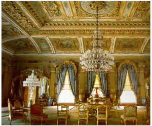 Hall of Dolmabahace Palace
