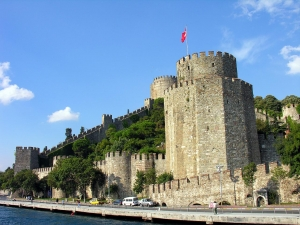 Rumeli Hisari Fortress in Turkey