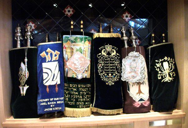 Jewish paraphernalia at Beth Shalom Temple, New Mexico