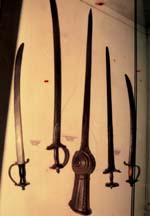 Old Dutch swords