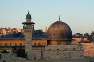 Masjid-al-Aqsa,Jerusalem, the third holiest site in Islam built opon the ruins of the Temple of Solomon